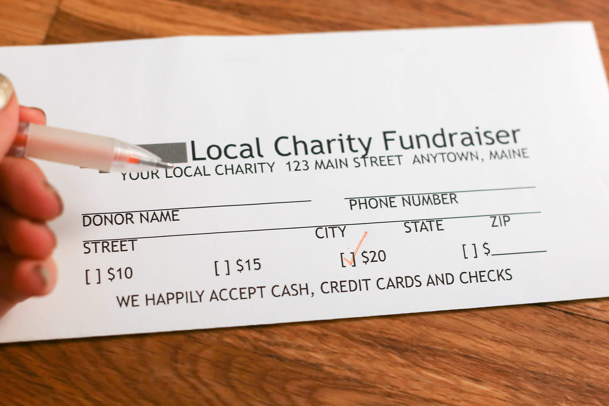 Donation Pledge Card – Calep.midnightpig.co With Free Pledge Card Template