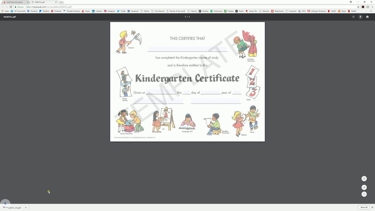 Download And Edit With System Viewer - Hayes Certificate Inside Hayes Certificate Templates