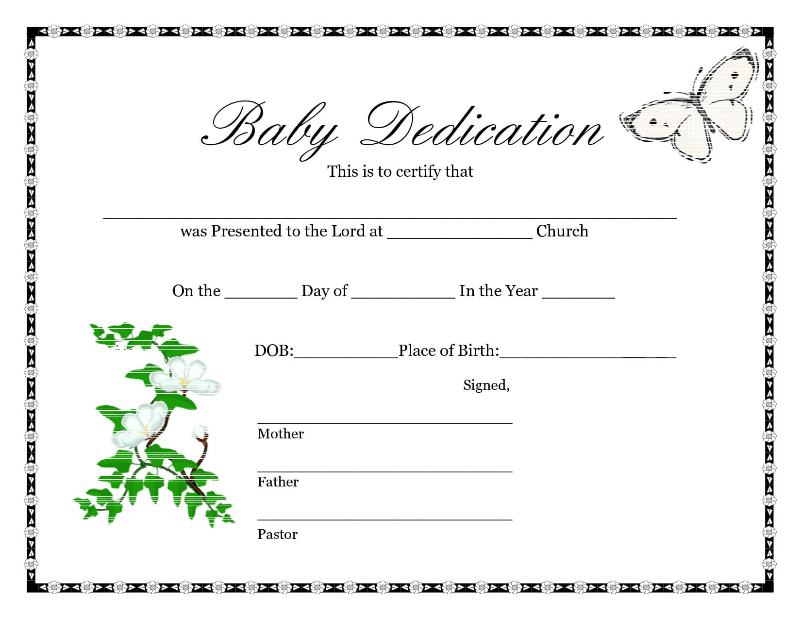 Downloadable Blank Birth Certificate Template Sample : V M D Throughout Birth Certificate Fake Template