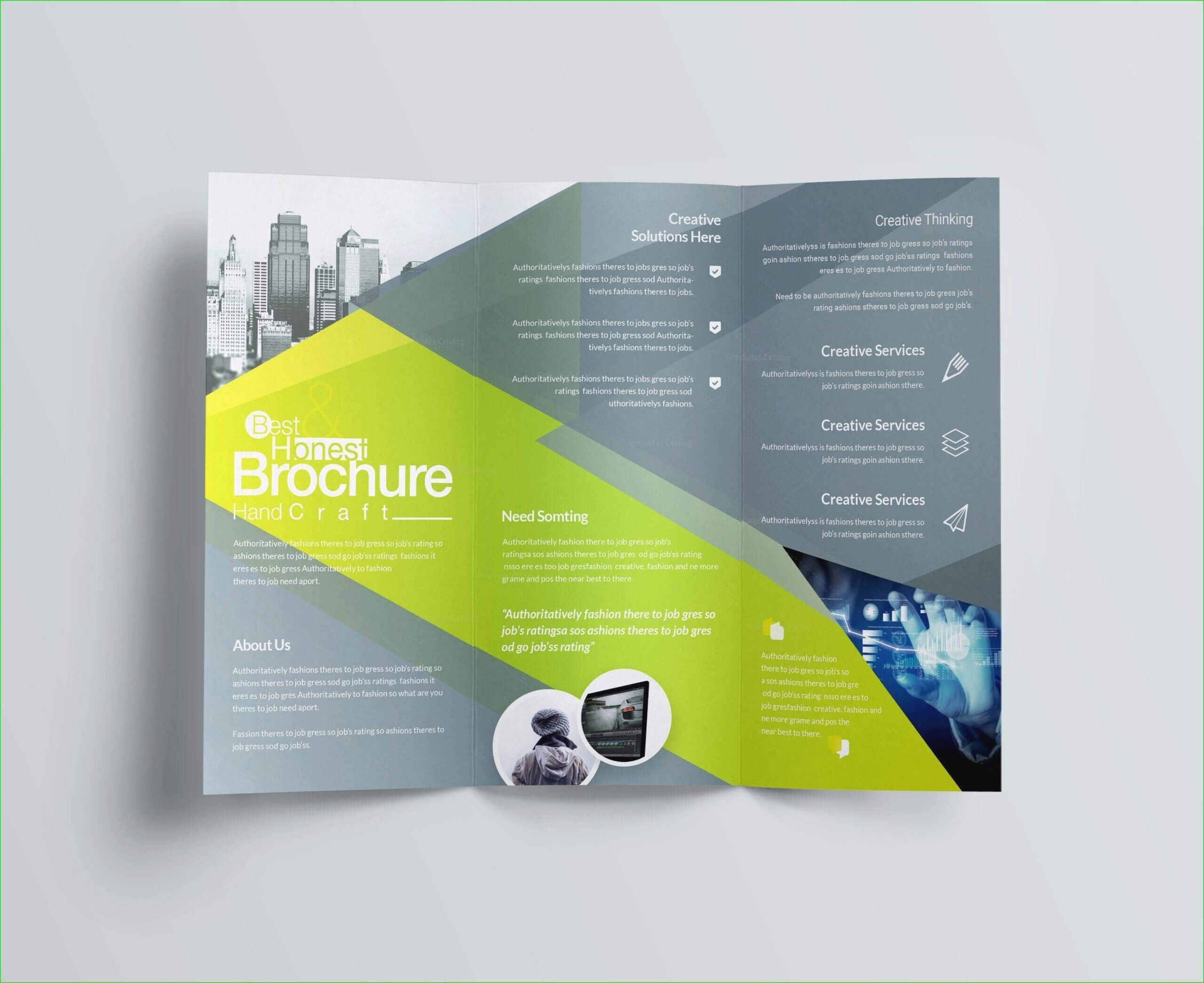 E Brochure Free – Calep.midnightpig.co Intended For Online Brochure Template Free