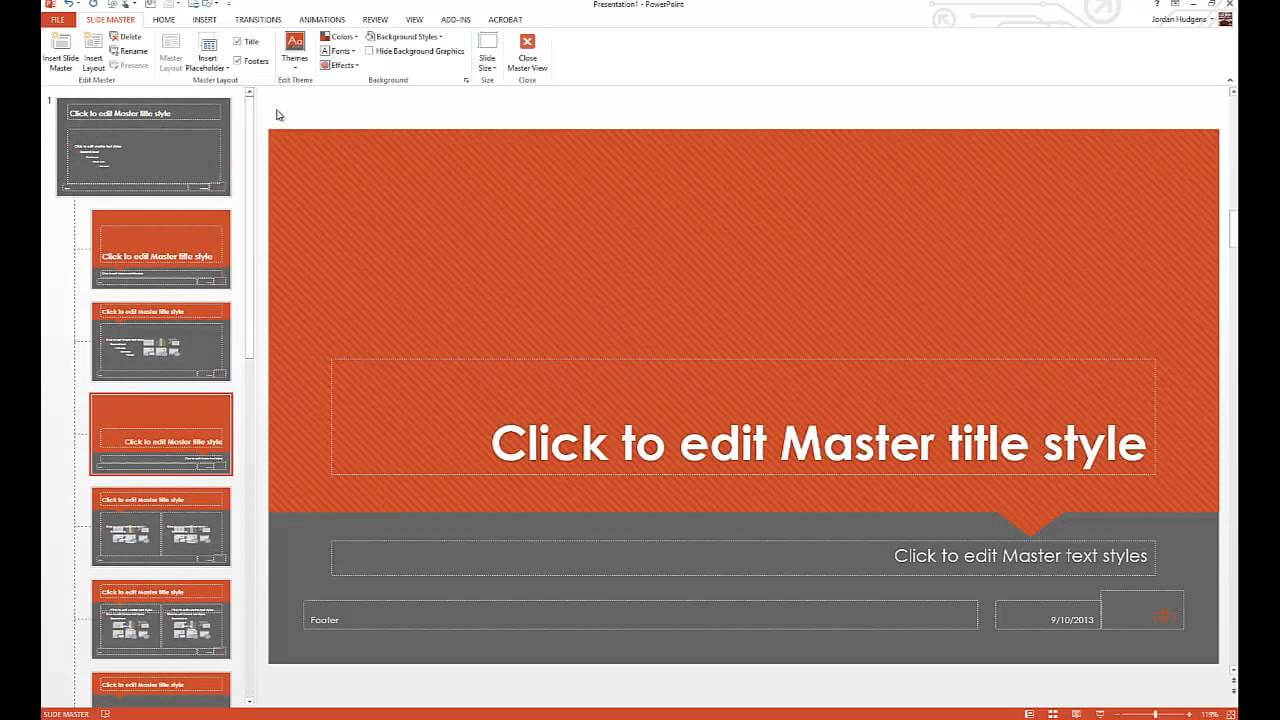 Edit Design Template Powerpoint – Yeppe In How To Edit Powerpoint Template