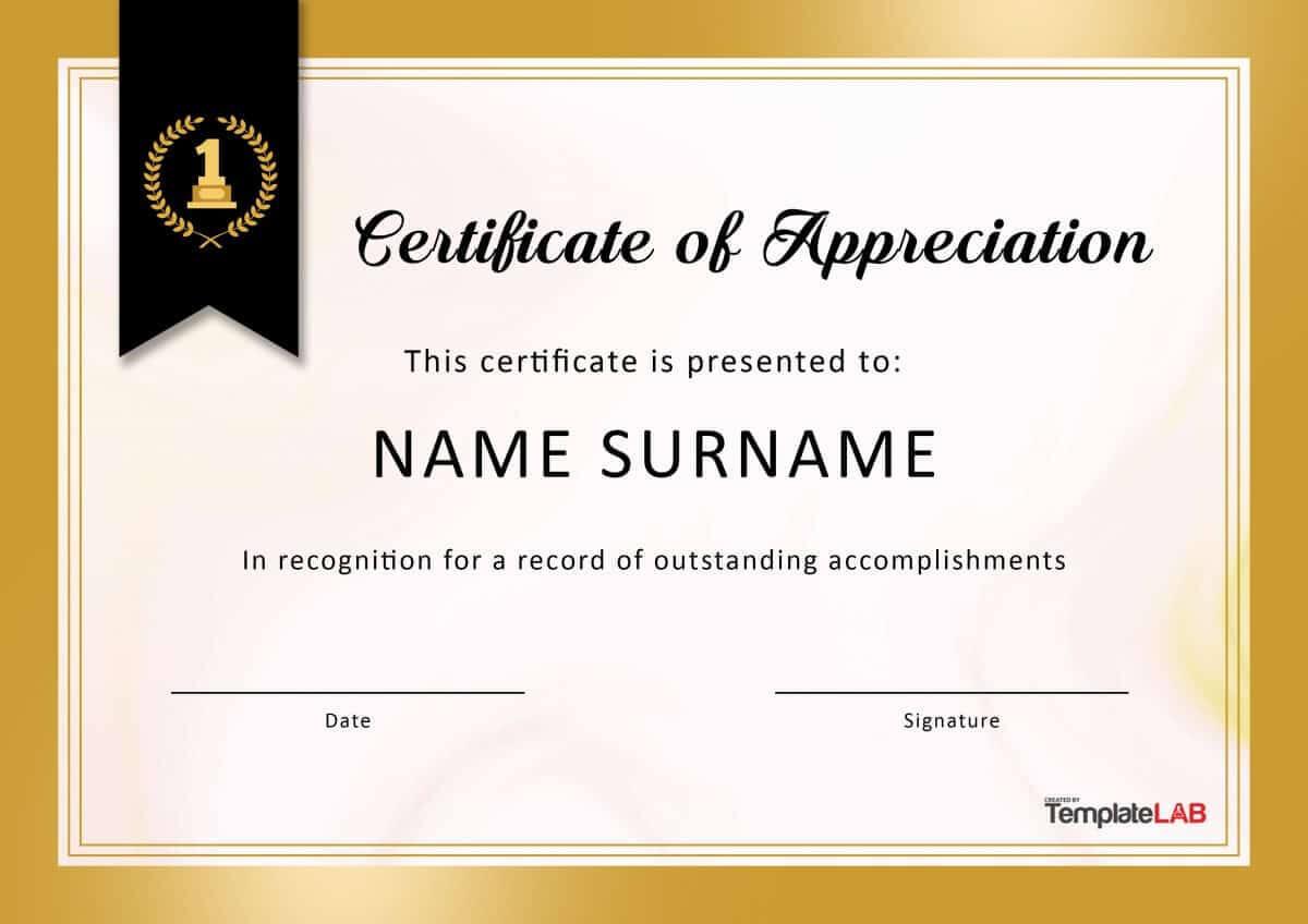 Employee Appreciation Certificate Templates - Calep Throughout Good Job Certificate Template