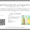 Everything You Need To Know About Coa + Certificate Of With Certificate Of Authenticity Photography Template
