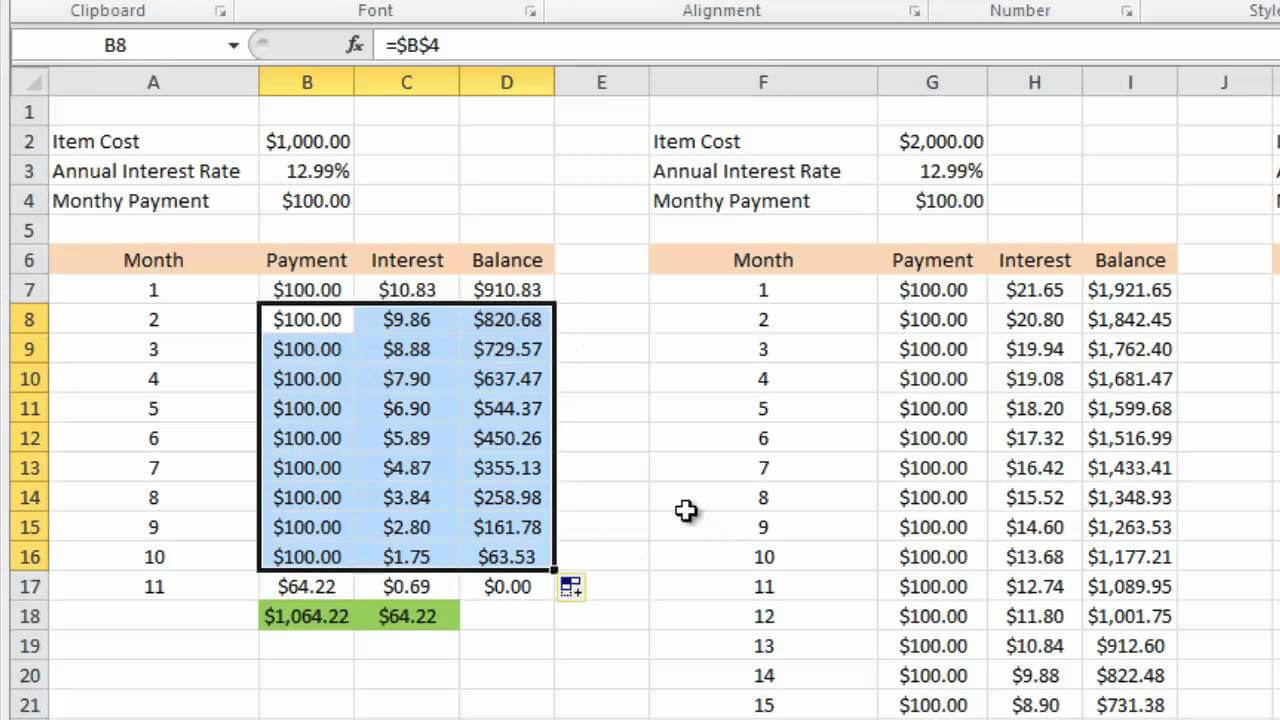 Excel Credit Card Payoff - Calep.midnightpig.co For Credit Card Interest Calculator Excel Template