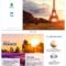 France Travel Tri Fold Brochure For Wine Brochure Template