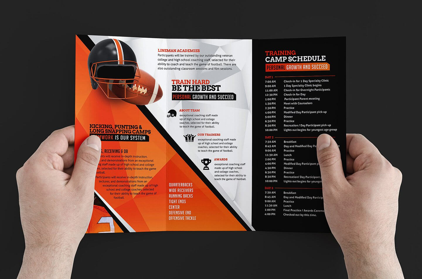 Free 12+ Training Brochure Designs In Word | Psd | Ai | Eps Pertaining To Training Brochure Template