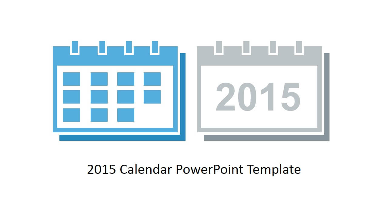 Free 2015 Calendar Template For Powerpoint For Powerpoint Calendar Template 2015