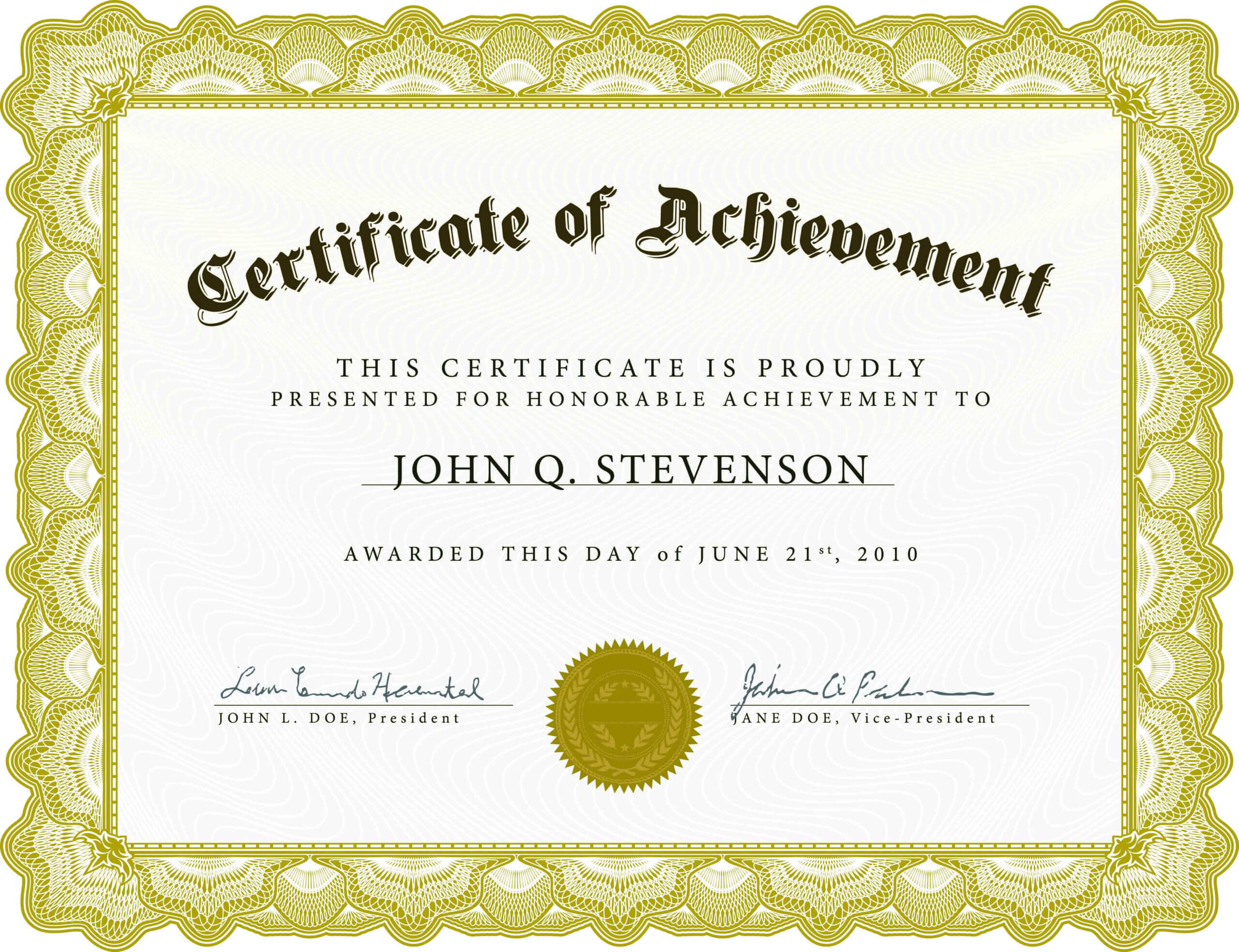 Free Certificates Template - Dalep.midnightpig.co With Certificate Template For Pages
