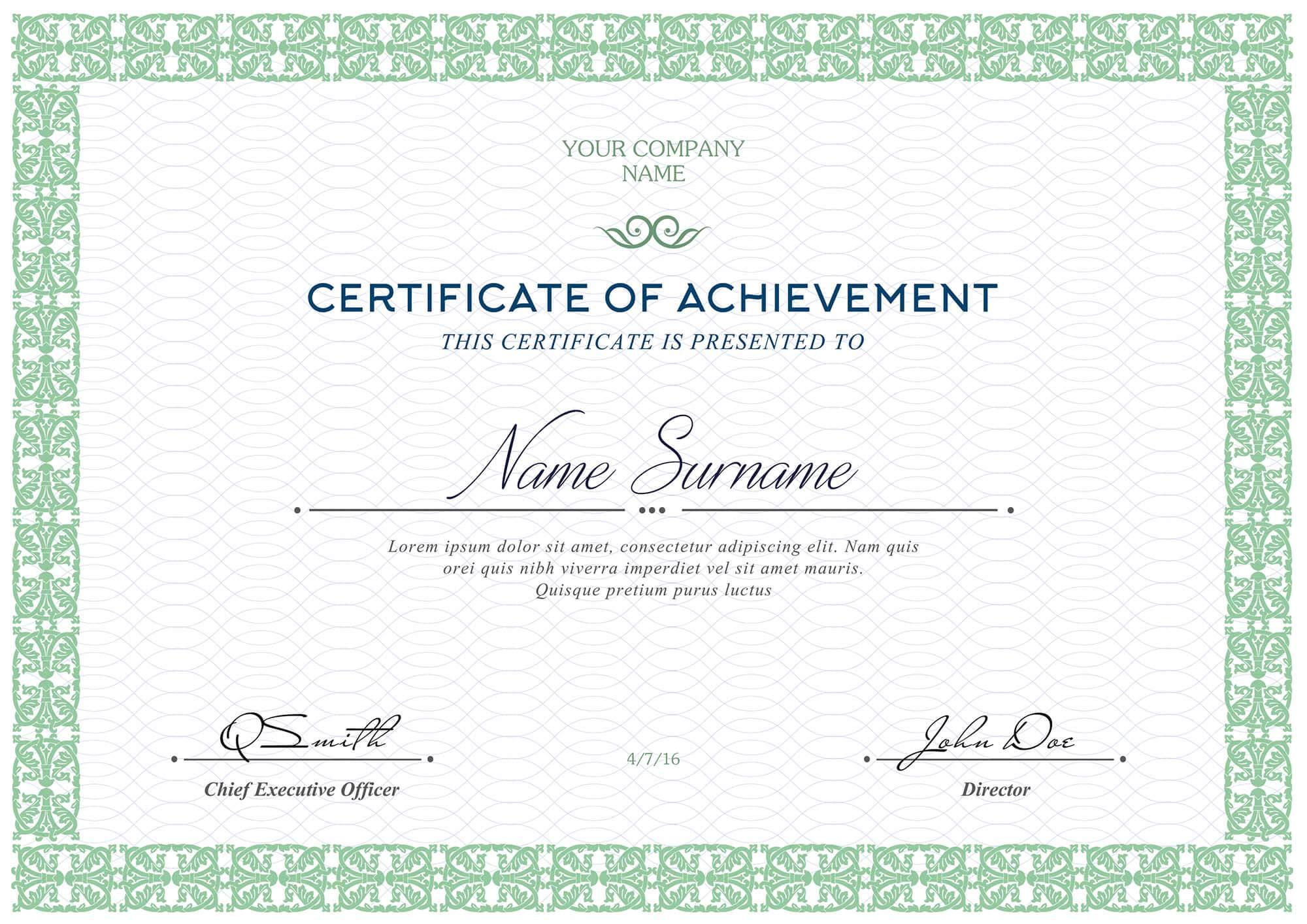 certificate blank templates template certificates retirement psd tunu redmini sample within regard driving safe pertaining printable plan professional completion fishainsurance