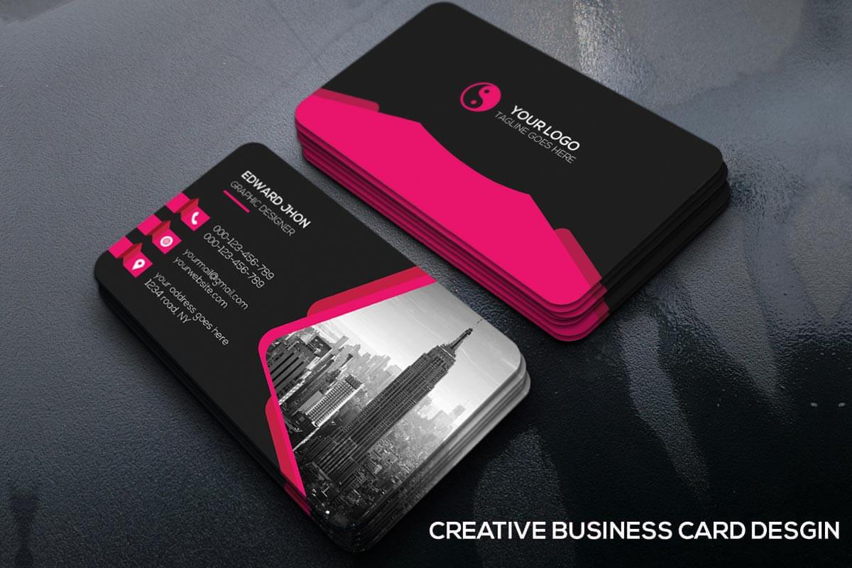 Free Creative Business Card Template - Creativetacos For Unique Business Card Templates Free