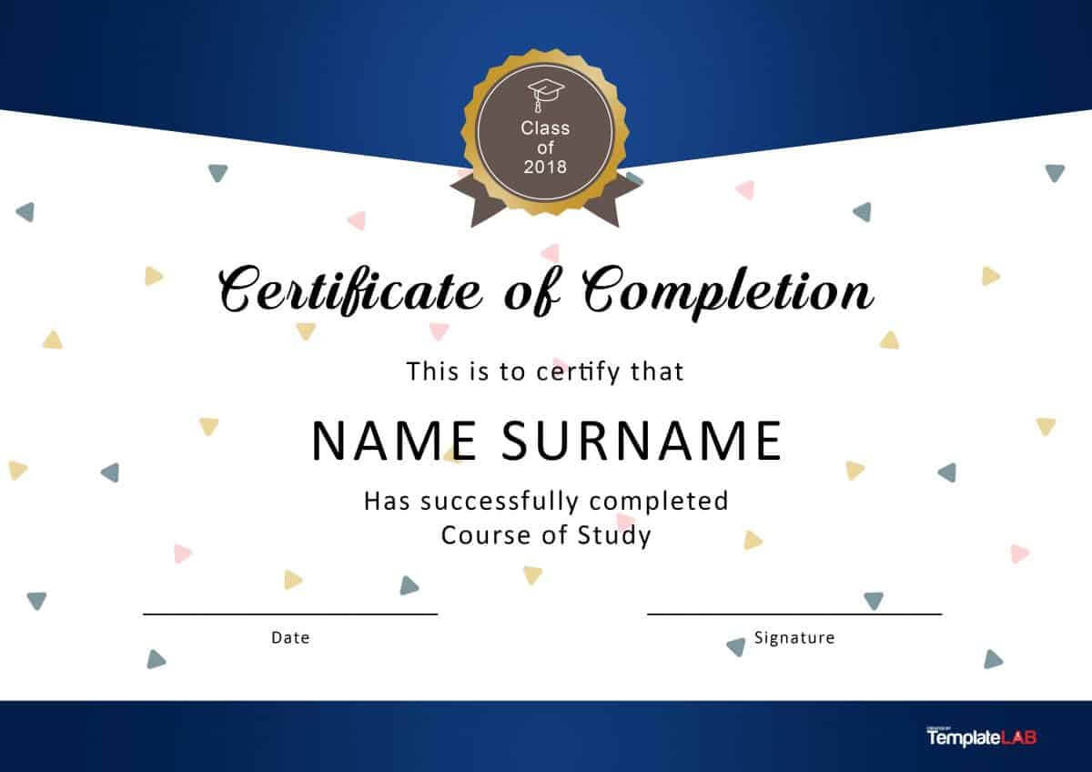 Free Downloadable Certificate Template – Dalep.midnightpig.co With Regard To Certificate Templates For Word Free Downloads