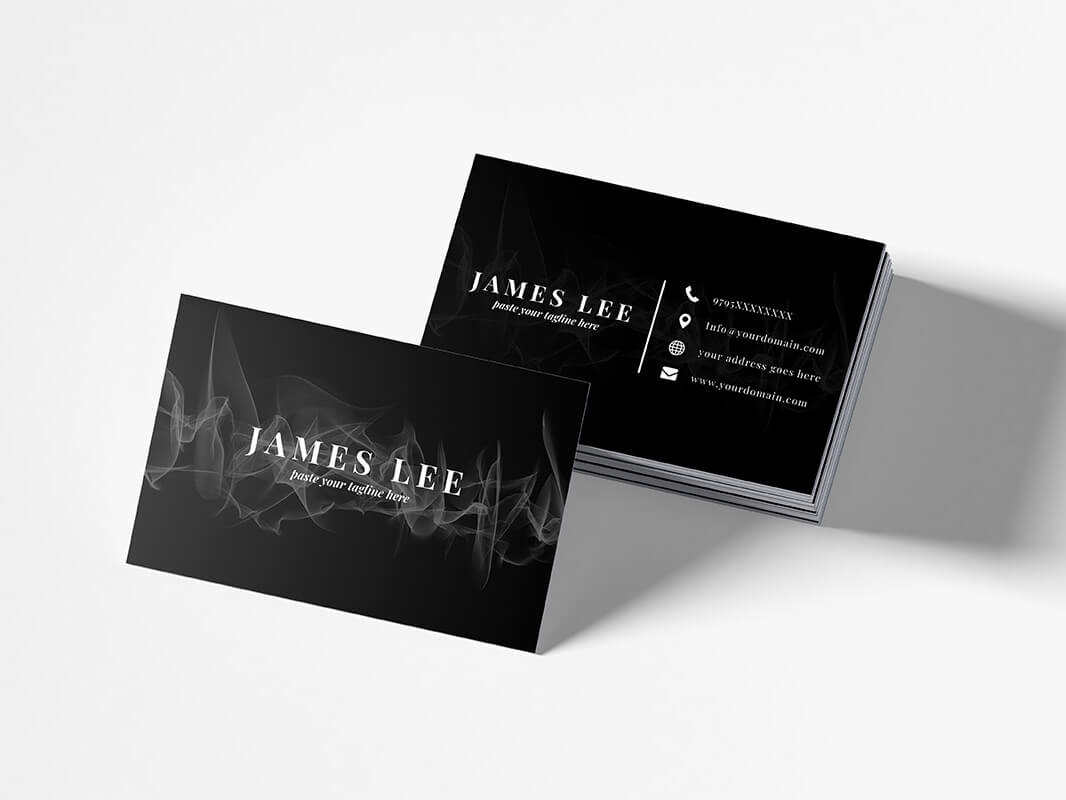 Free Elegant Business Card Templatefaraz Ahmad For ...