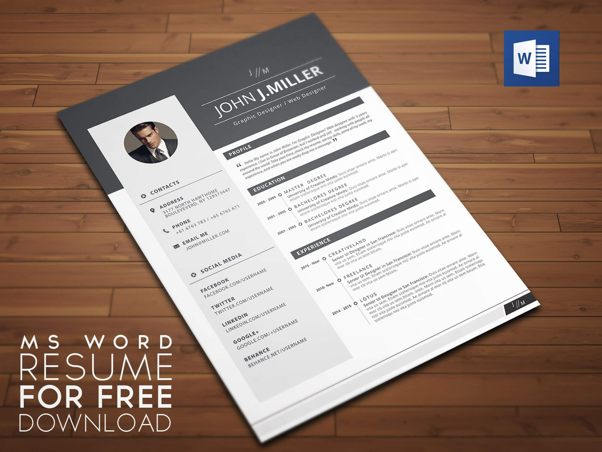Free Microsoft Design Templates – Yeppe In Free Brochure Templates For Word 2010