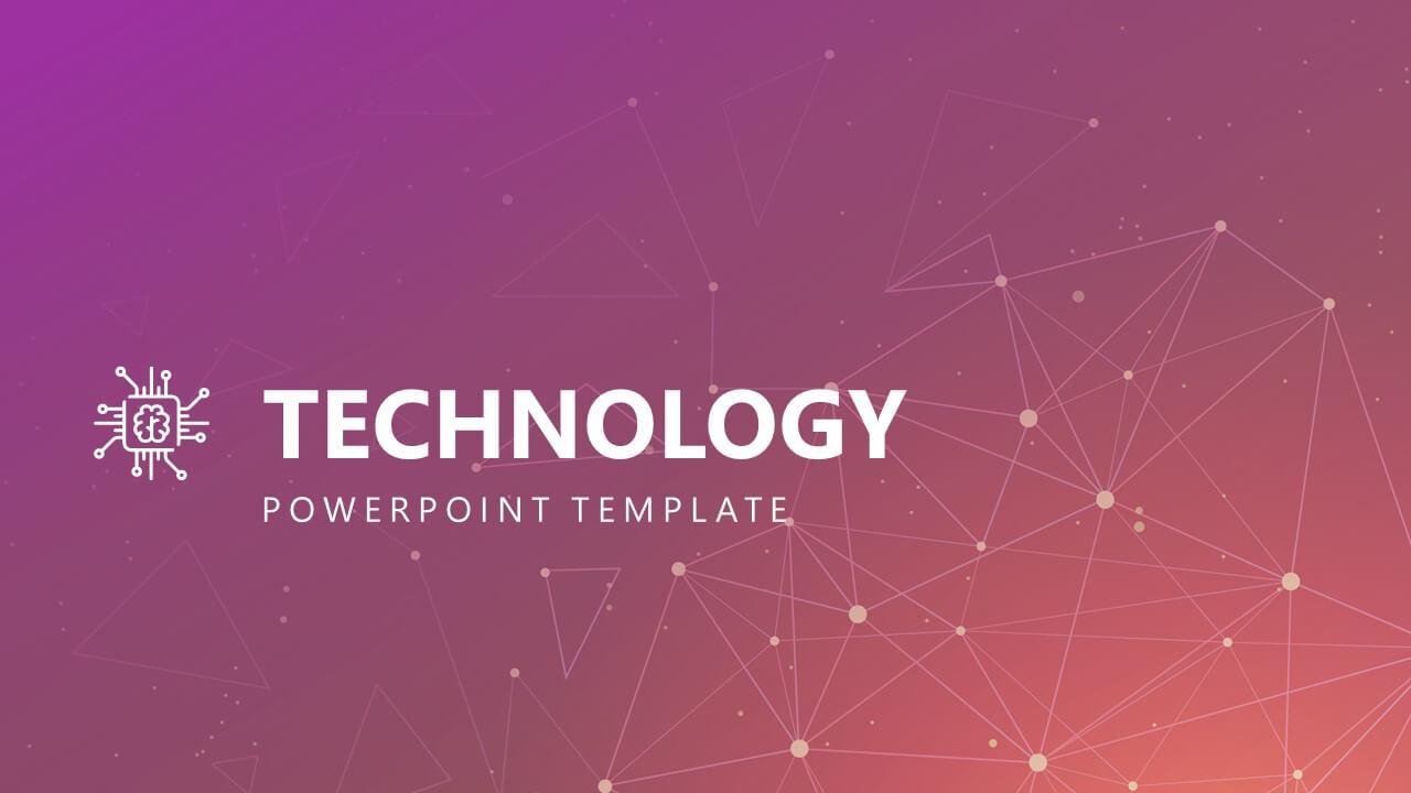 Free Modern Technology Powerpoint Template Within Powerpoint Templates For Technology Presentations