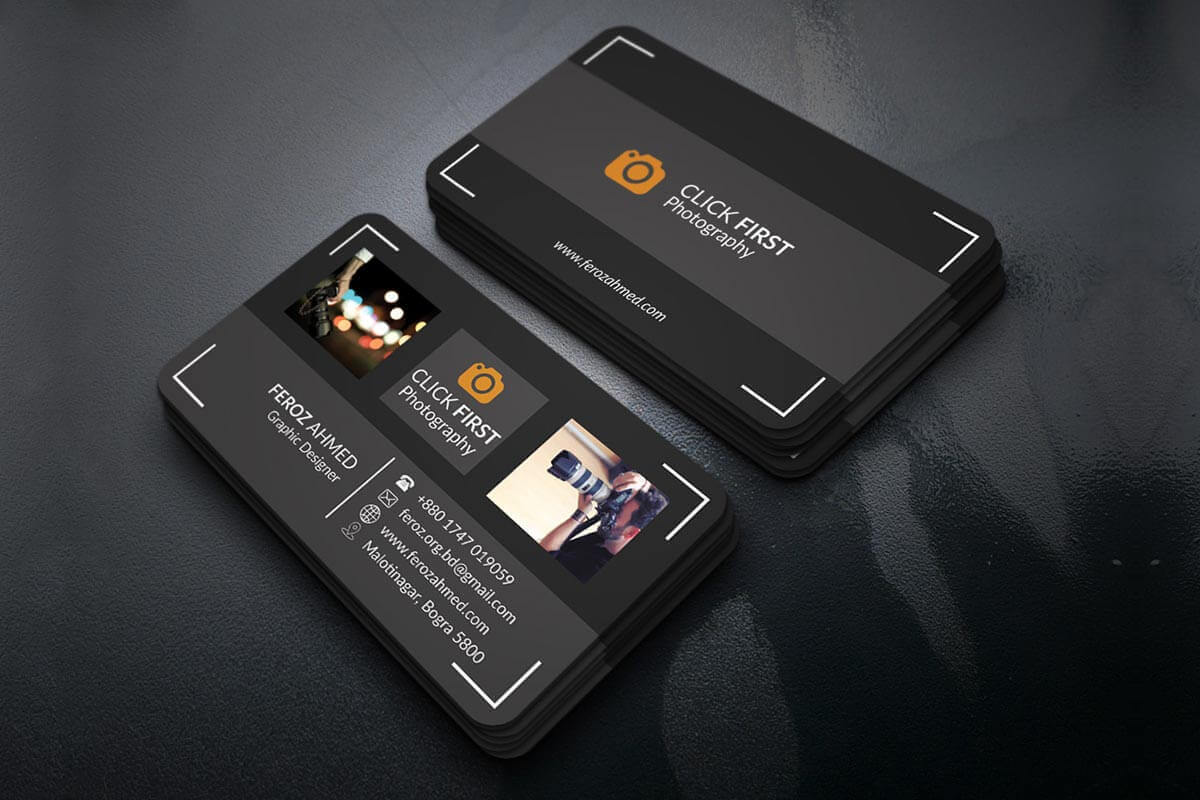 Free Photography Business Card Template - Creativetacos Pertaining To Free Business Card Templates For Photographers