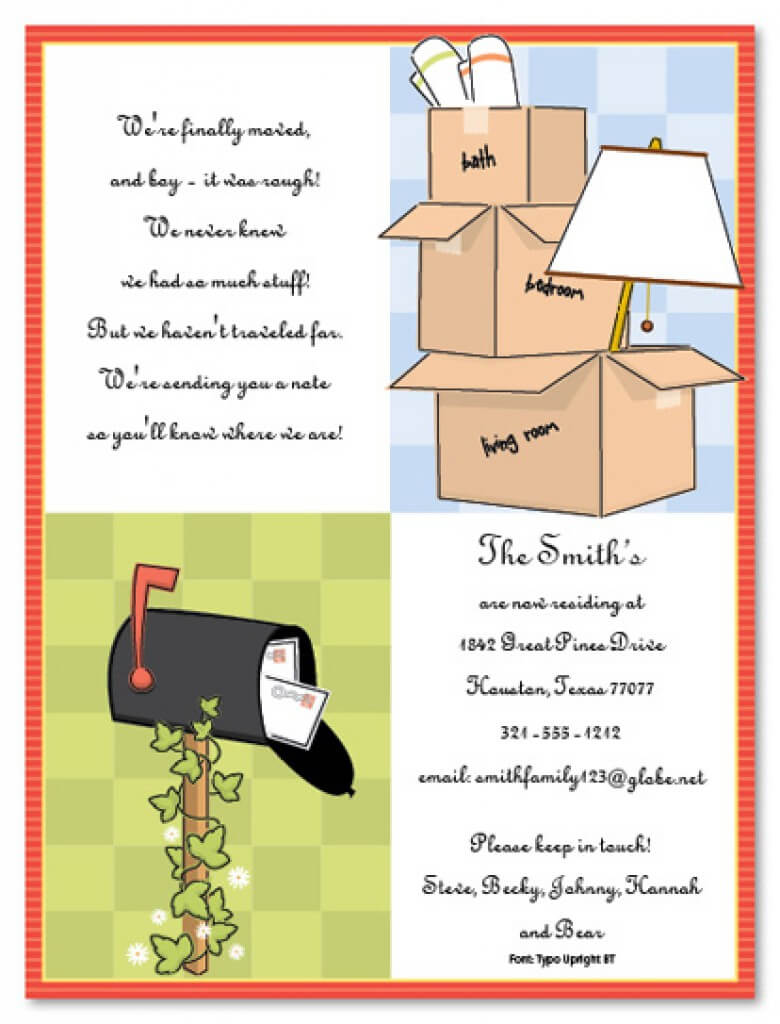 Free Printable Housewarming Party Invitations Templates Throughout Free Housewarming Invitation Card Template