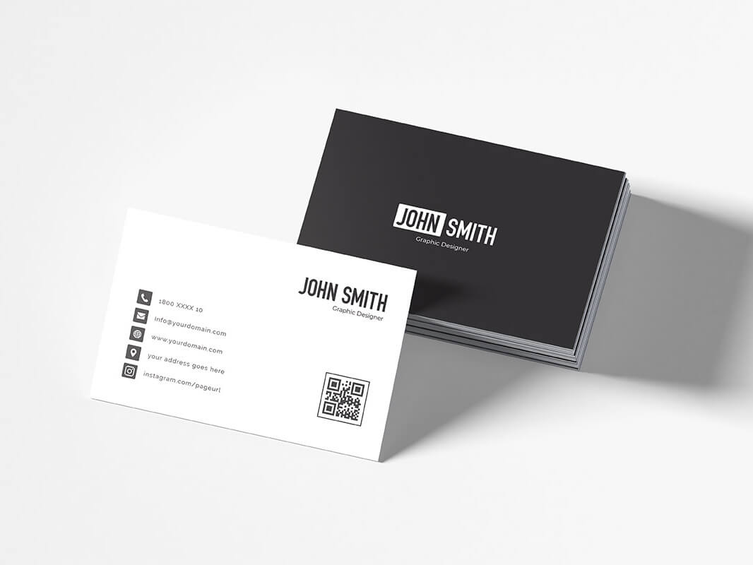 Free Simple Business Card Templatecreativetacos On Dribbble Inside Free Complimentary Card Templates