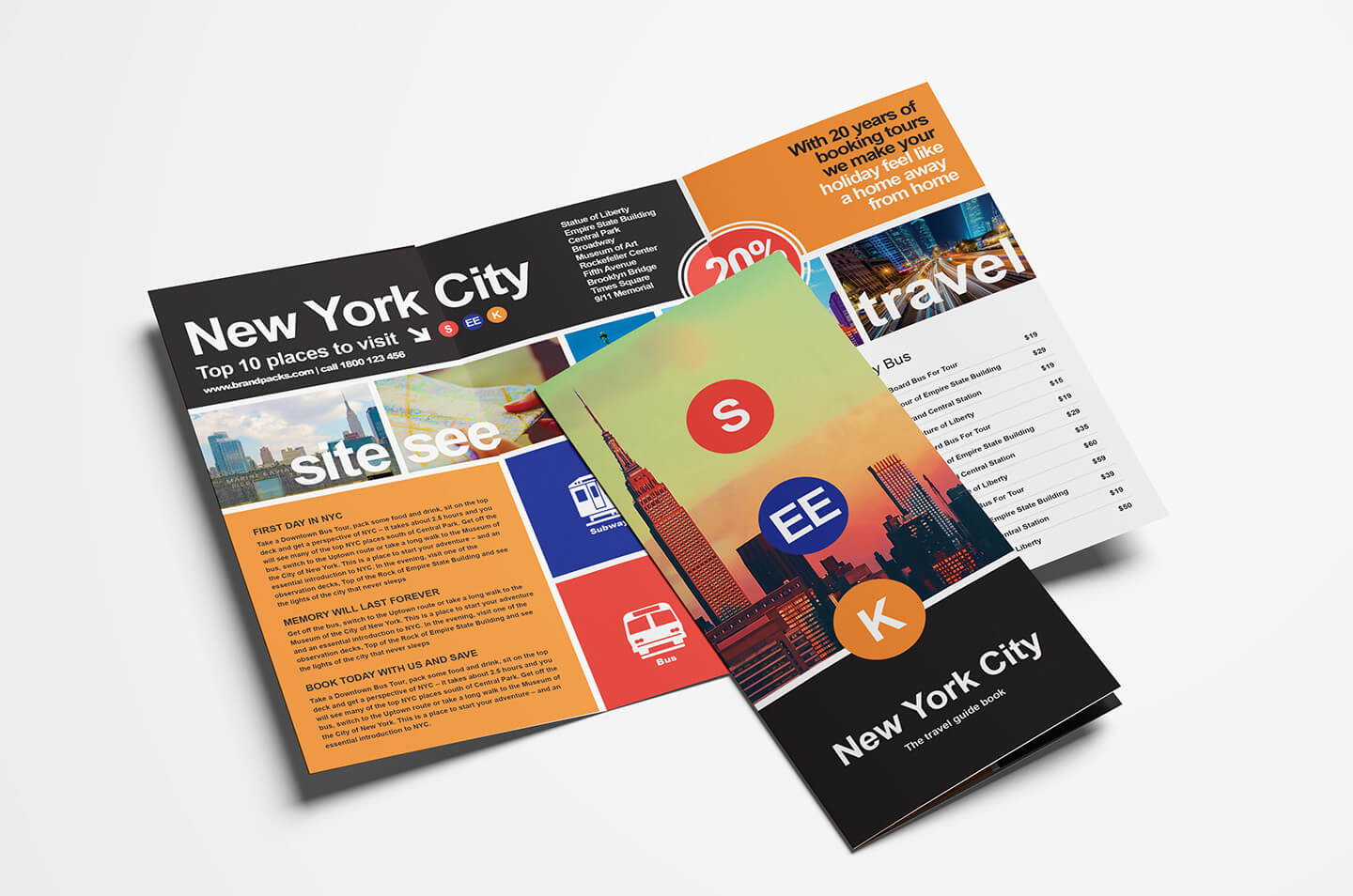 Free Travel Trifold Brochure Template For Photoshop Intended For Travel And Tourism Brochure Templates Free