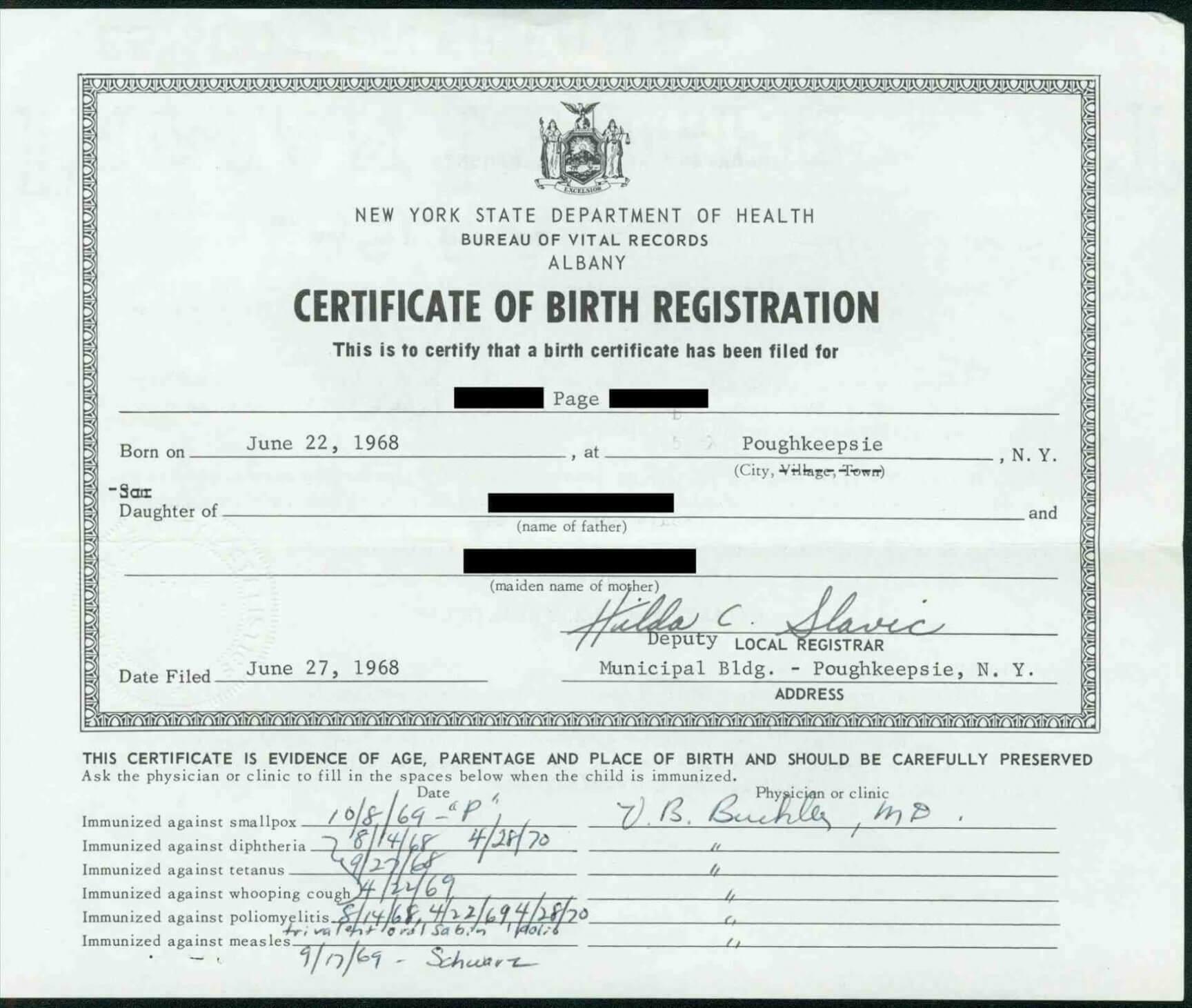 German Birth Certificate Template – Calep.midnightpig.co In Birth Certificate Template Uk