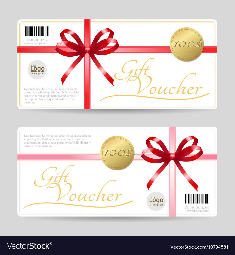 Gift Card Or Gift Voucher Template In Gift Card Template Illustrator