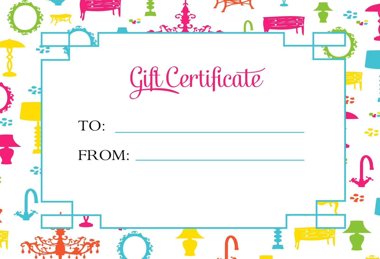 Gift Certificate Template For Kids Blanks | Loving Printable Throughout Kids Gift Certificate Template
