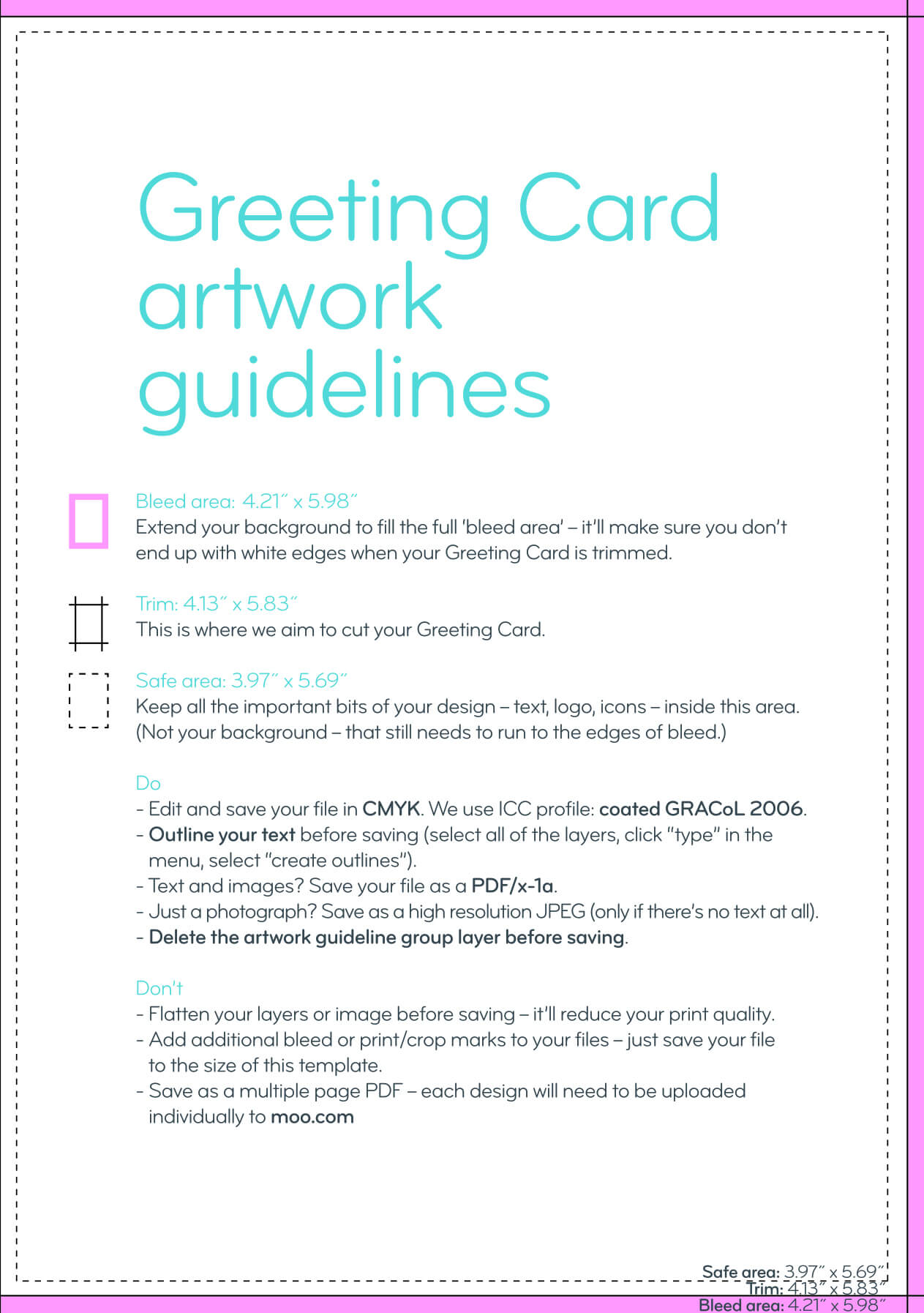 Greeting Card Design Guidelines Pertaining To Birthday Card Indesign Template