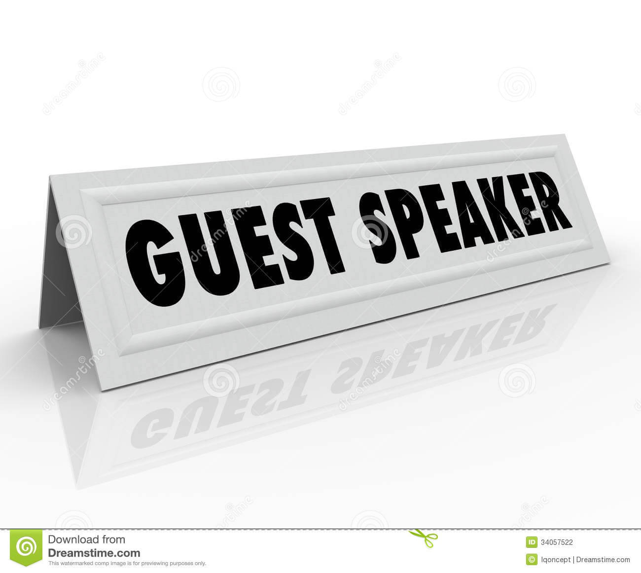 Guest Speaker Name Tent Card Presentation Panel Discussion With Regard To Name Tent Card Template Word