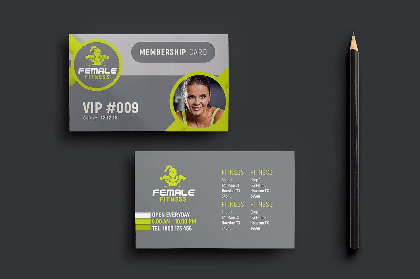 Gym Membership Card - Calep.midnightpig.co Intended For Gym Membership Card Template