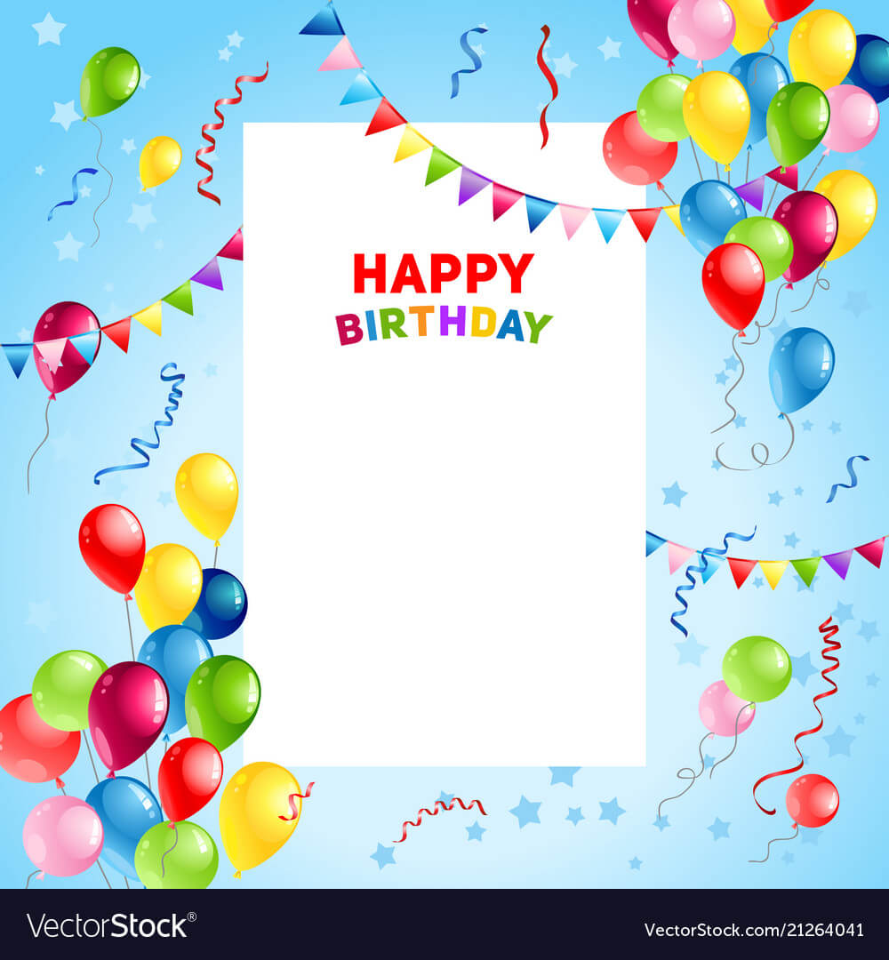 Happy Birthday Templates – Dalep.midnightpig.co In Greeting Card Template Powerpoint