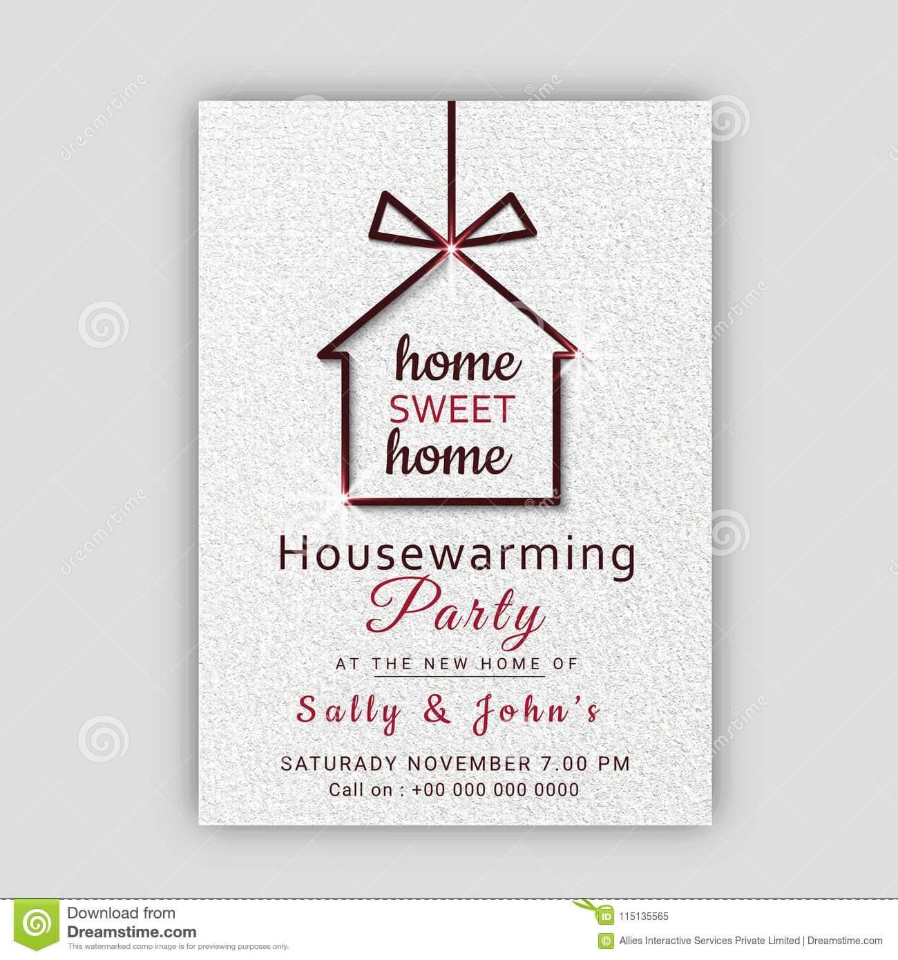 Housewarming Invitation Designs – Calep.midnightpig.co With Regard To Free Housewarming Invitation Card Template