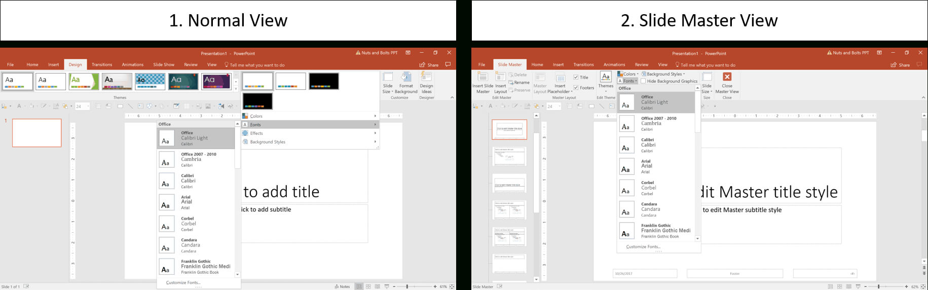How To Create A Powerpoint Theme (Step By Step) Within How To Edit Powerpoint Template