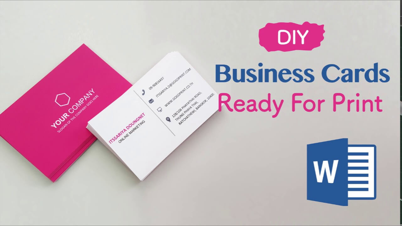How To Create Your Business Cards In Word – Professional And Print Ready In  4 Easy Steps! Pertaining To Free Business Cards Templates For Word