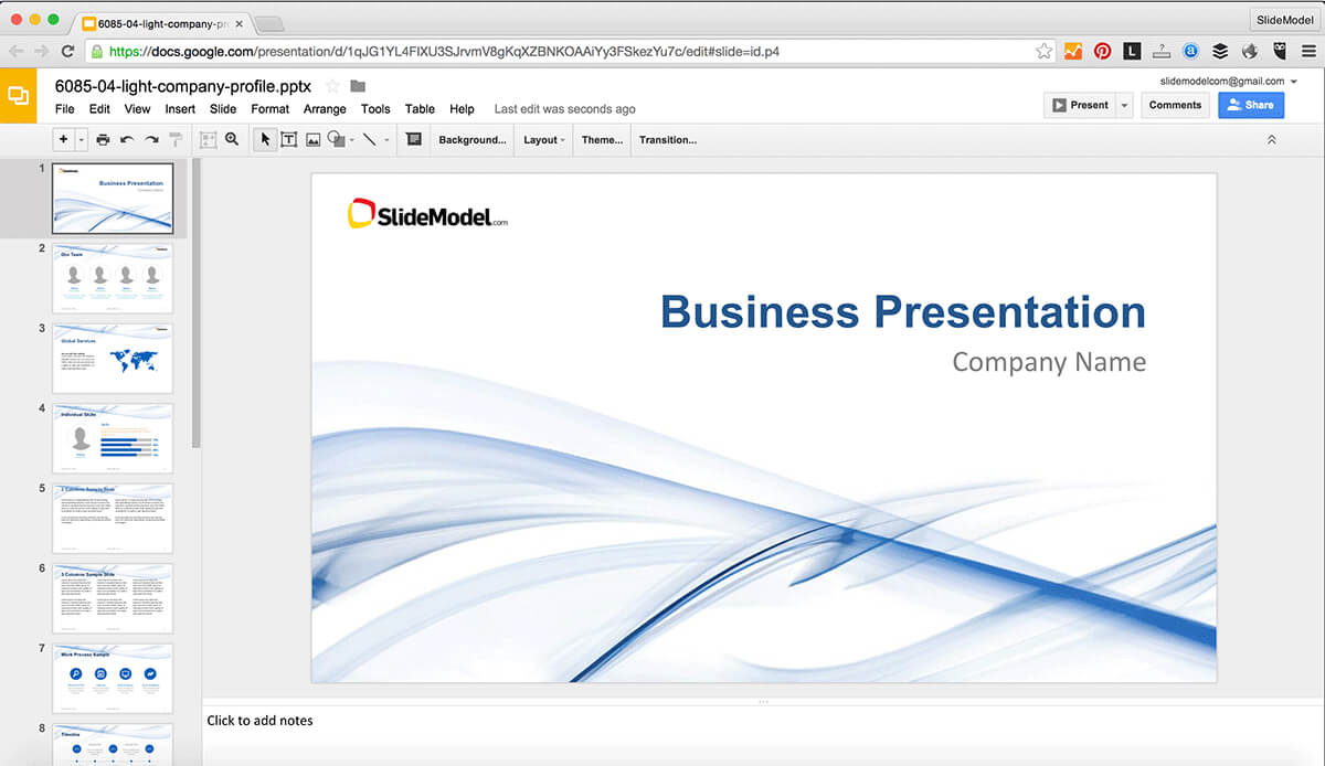 How To Edit Powerpoint Templates In Google Slides - Slidemodel Regarding How To Edit A Powerpoint Template
