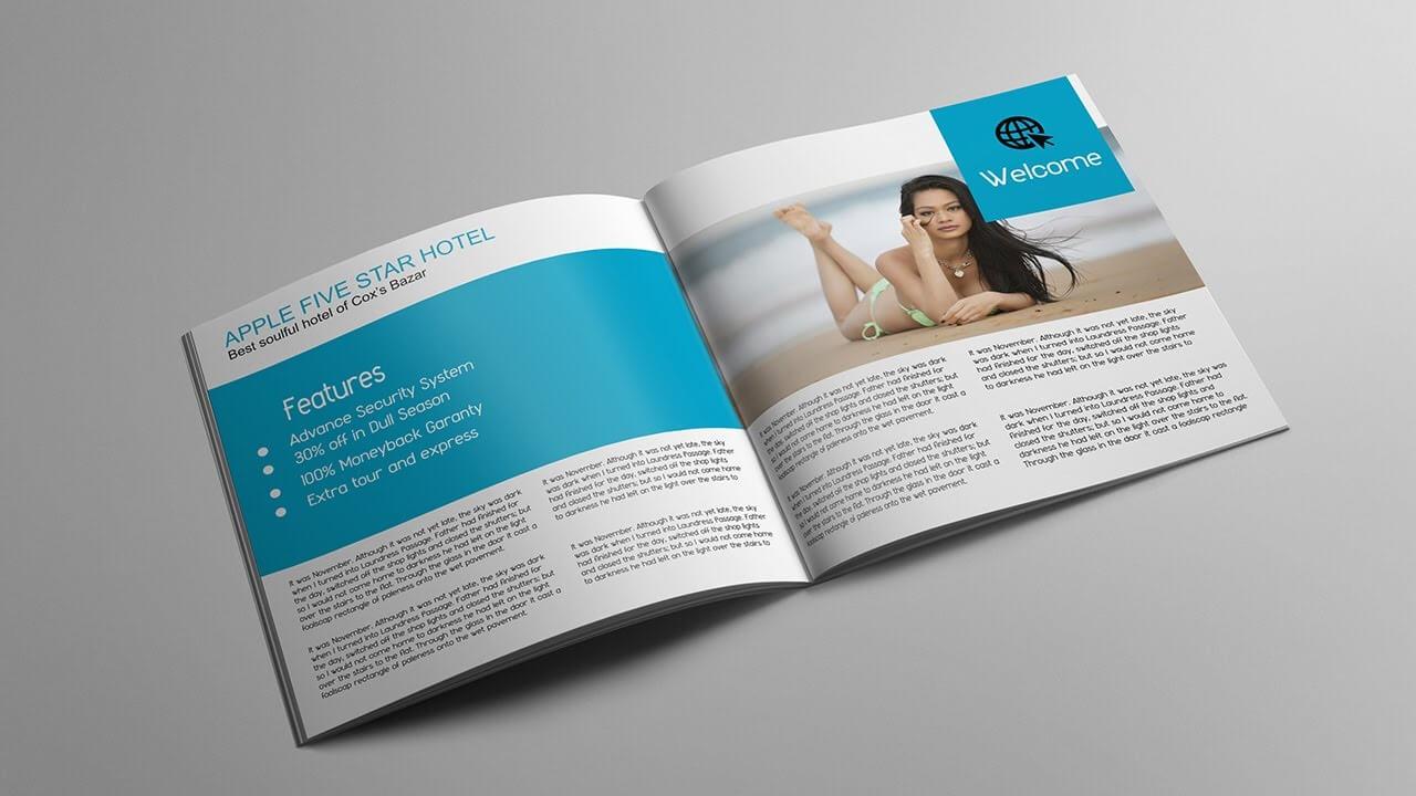 How To Layout Brochure Design   Adobe Illustrator Tutorial Intended For Brochure Templates Adobe Illustrator