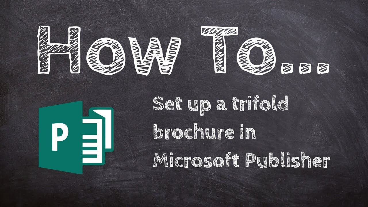 How To Make A Trifold Brochure In Microsoft Publisher Inside Tri Fold Brochure Publisher Template
