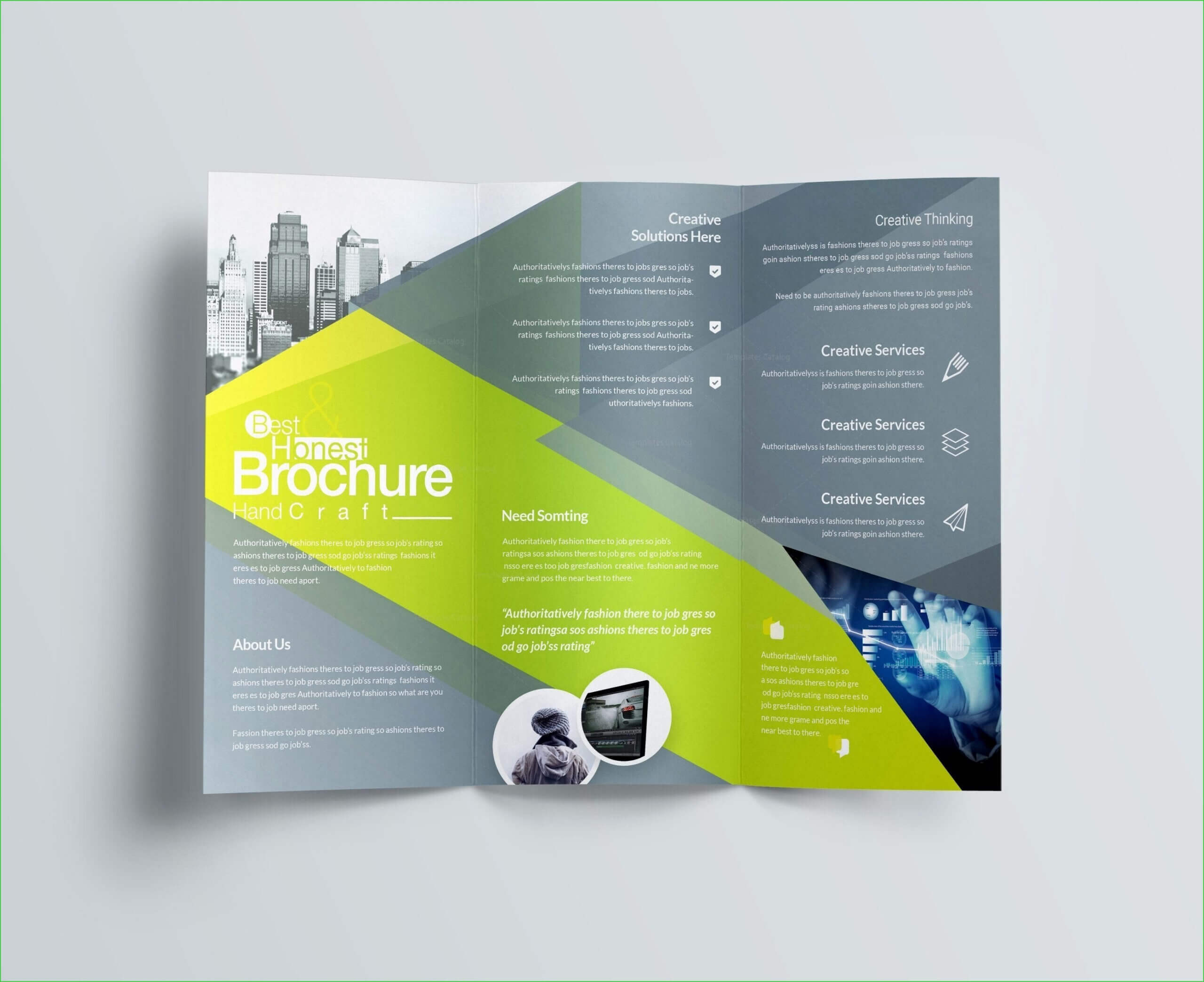 How To Make A Trifold Brochure In Powerpoint – Carlynstudio Intended For Free Brochure Templates For Word 2010