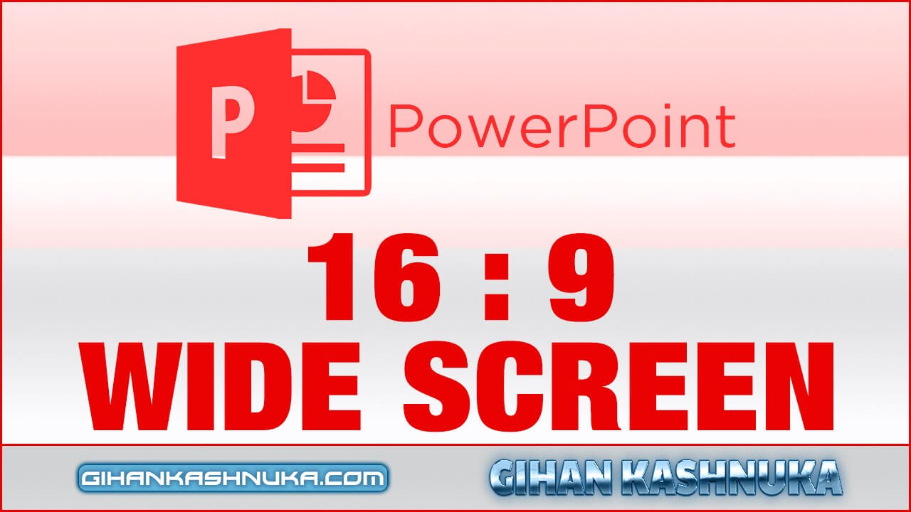 How To Set 16:9 Resolution In Powerpoint Presentation (Full Screen) In Powerpoint Template Resolution