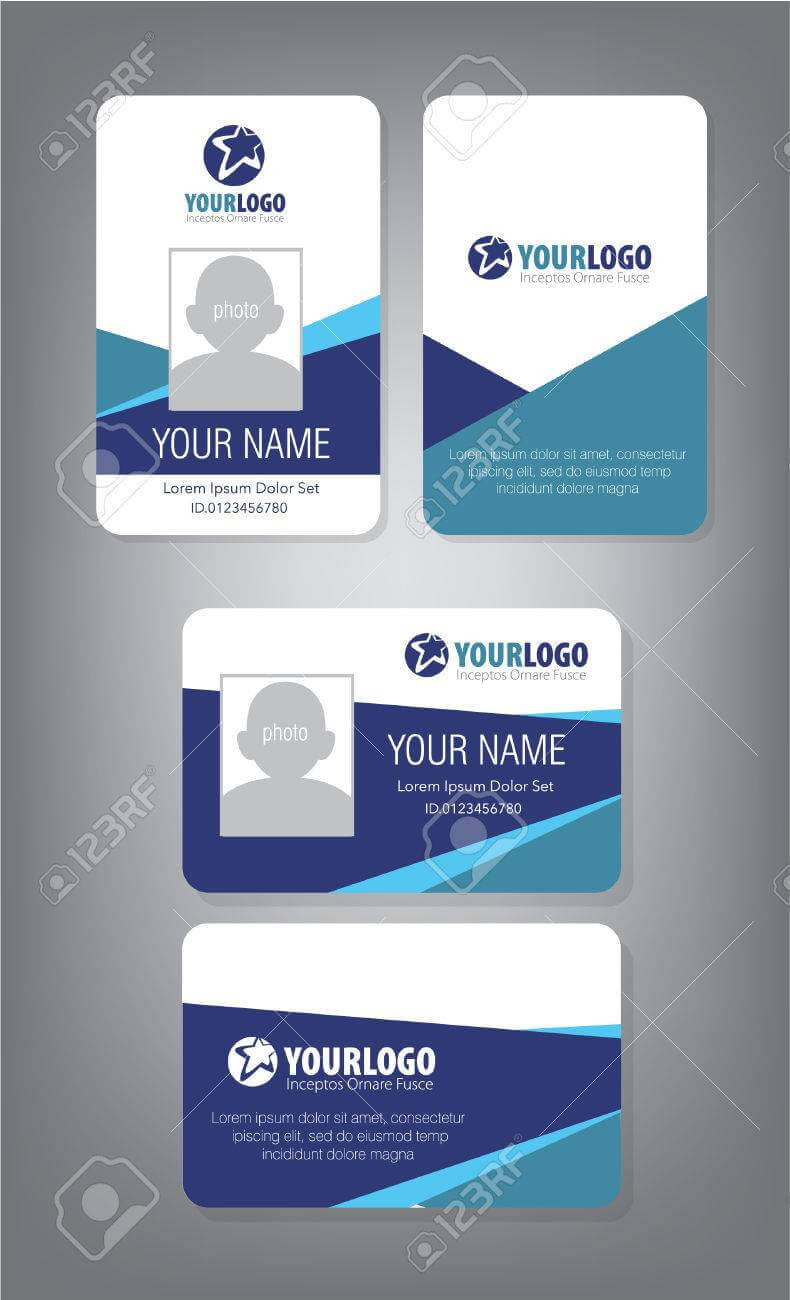 Id Card Template For Employee And Others Regarding Personal Identification Card Template