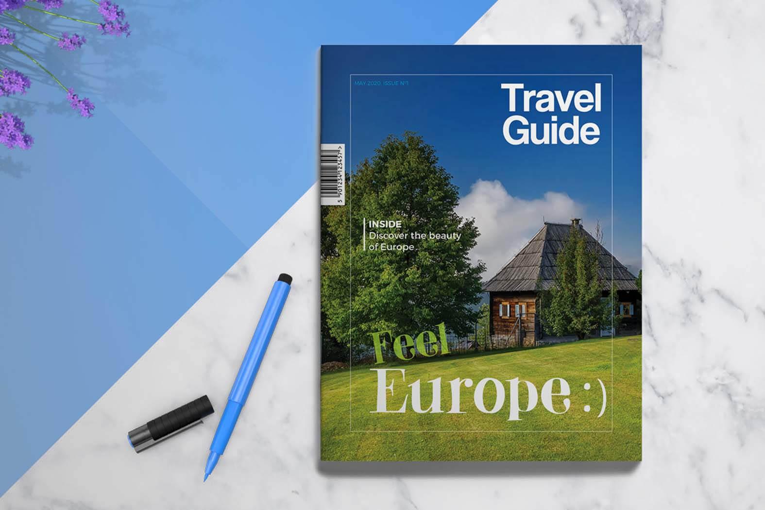 Insurance Brochure Template Travel Guide Brochure Template Within Travel Brochure Template Ks2