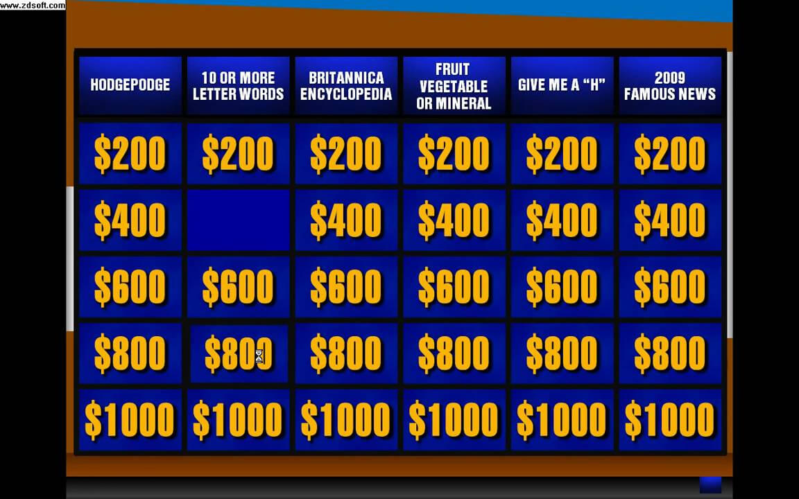 Jeopardy Powerpoint - Calep.midnightpig.co Intended For Jeopardy Powerpoint Template With Score