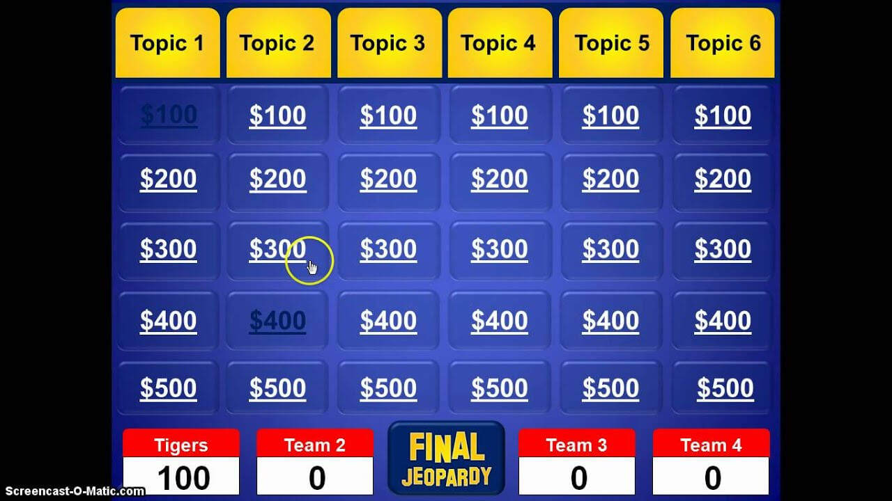 Jeopardy Powerpoint Template With Sound - Calep.midnightpig.co Inside Jeopardy Powerpoint Template With Score