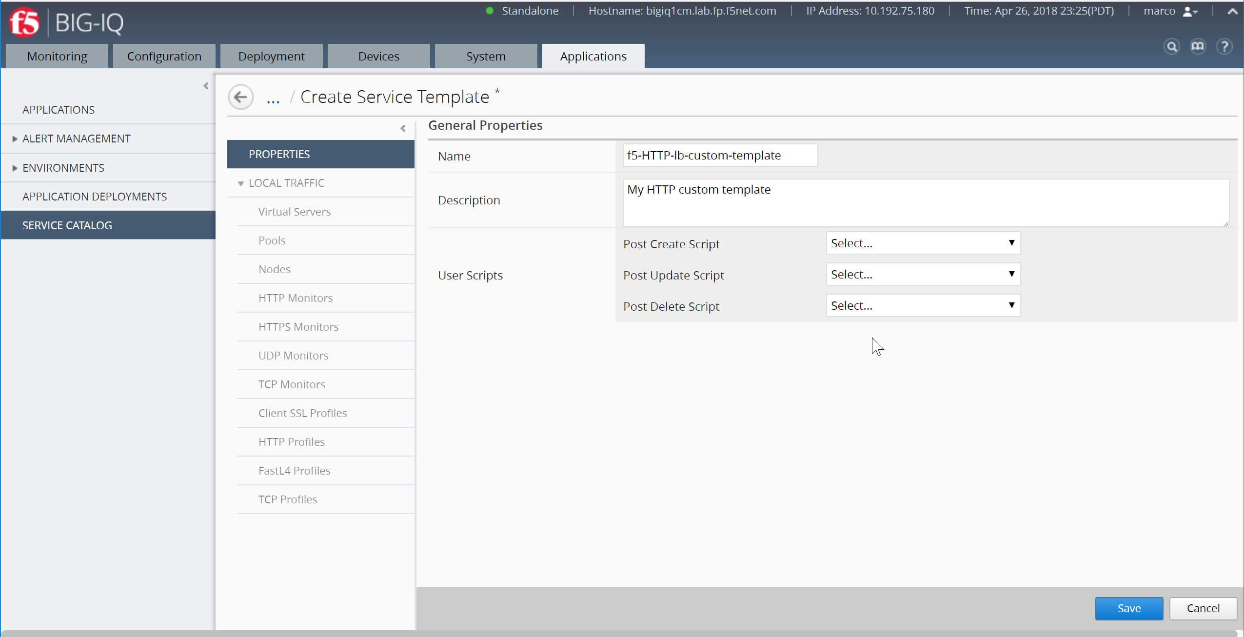 Lab 4.1: Custom Service Template With Iq Certificate Template