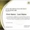 Lean Six Sigma Yellow Belt Certification In Healthcare Inside Green Belt Certificate Template