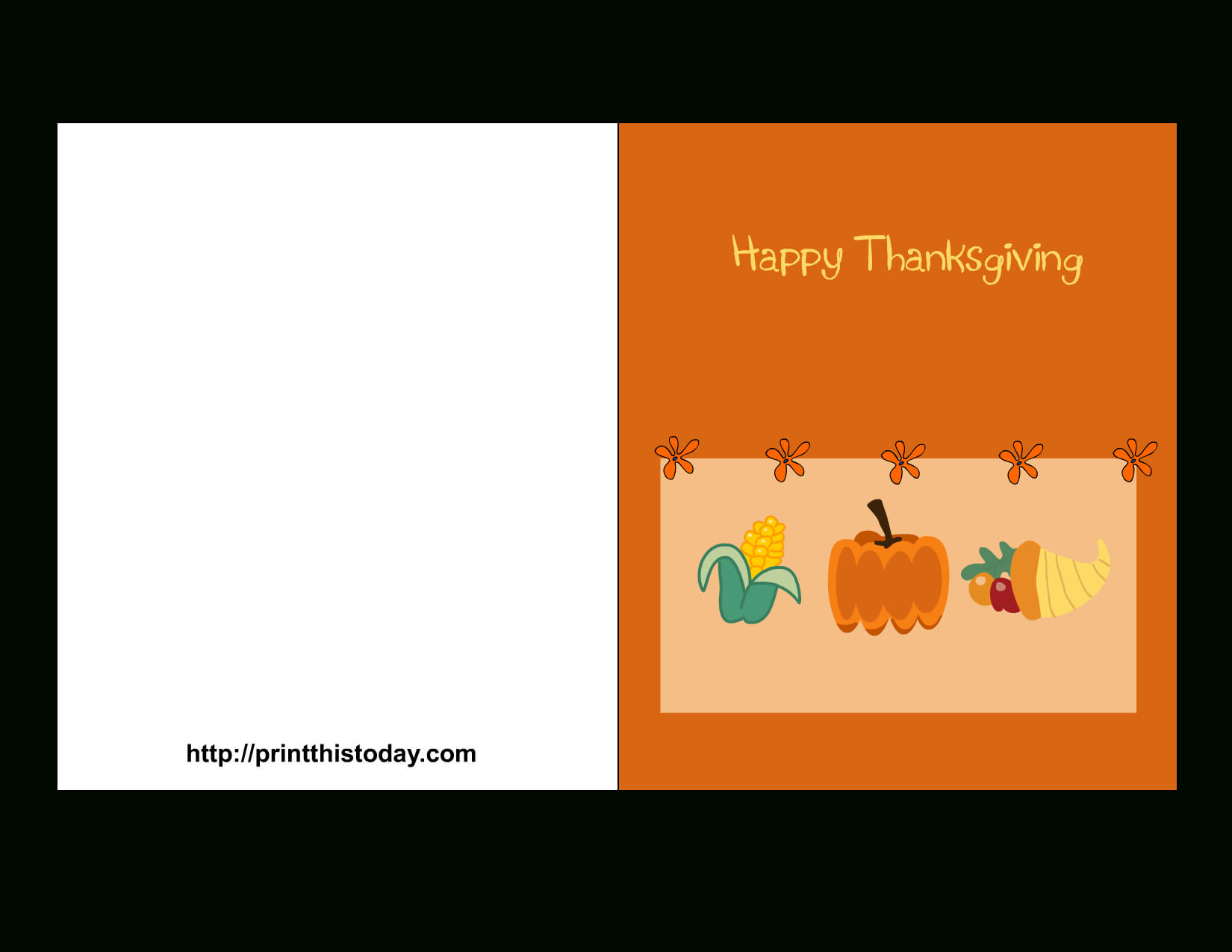 Library Of Thanksgiving Clipart Free Library Placecards Png In Thanksgiving Place Card Templates