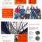 Modern Orange College Tri Fold Brochure Template Inside Training Brochure Template