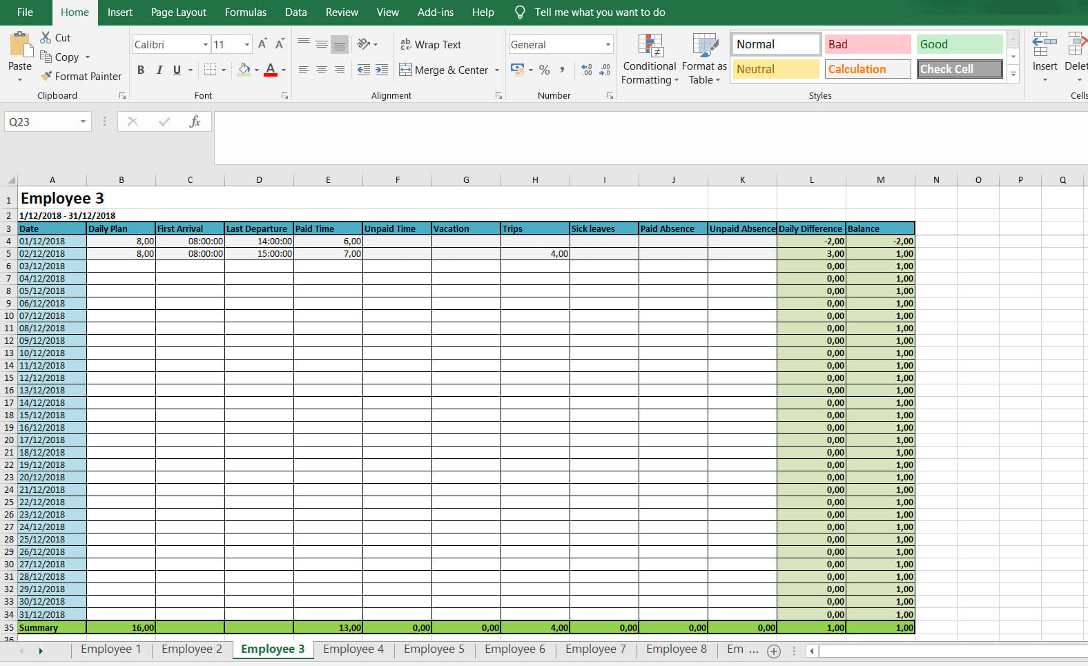 Monthly And Weekly Timesheets - Free Excel Timesheet With Weekly Time Card Template Free