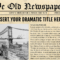 Newspaper Template For Powerpoint - Vsual pertaining to Newspaper Template For Powerpoint