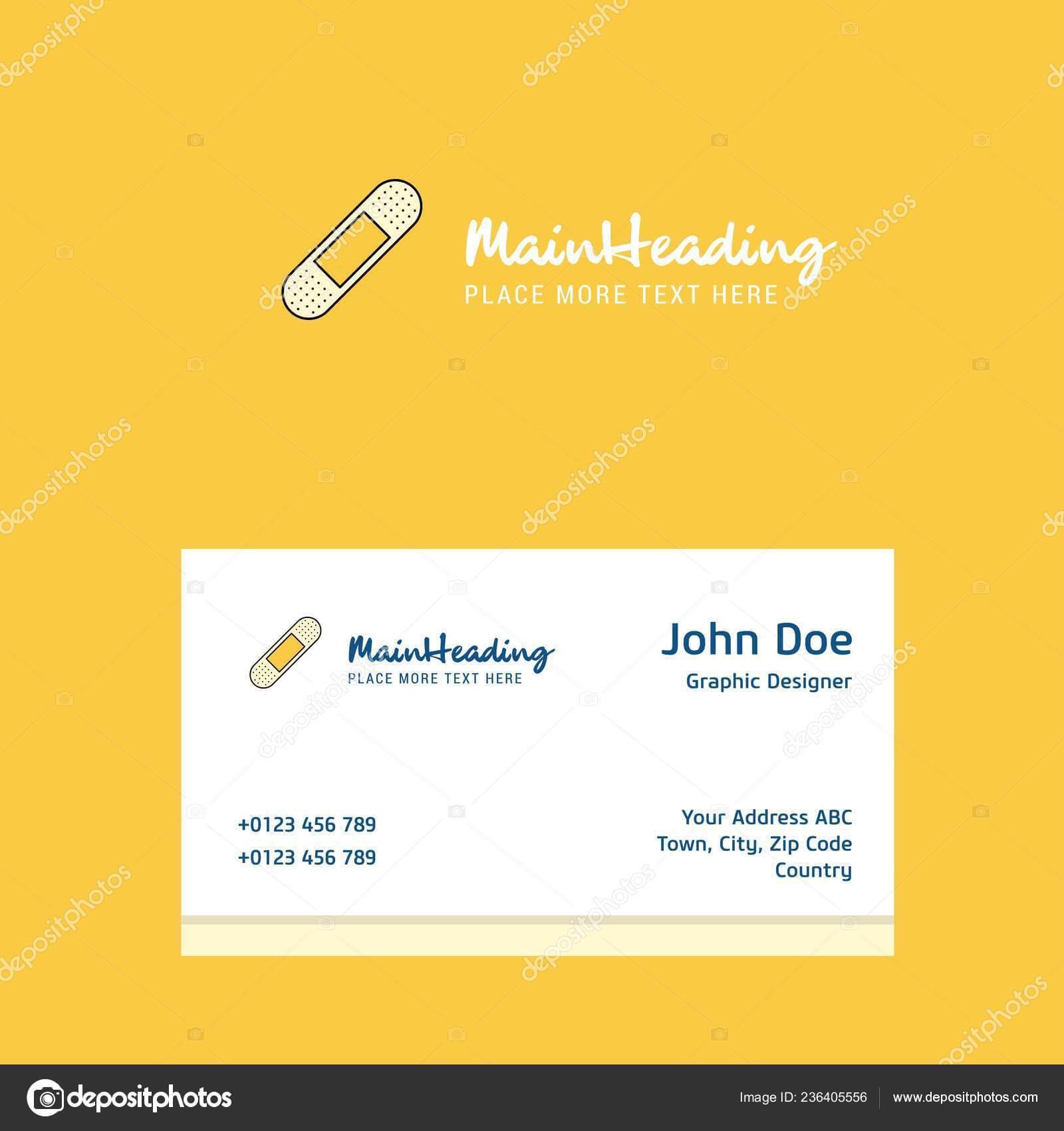 Plaster Logo Design Business Card Template Elegant Corporate For Plastering Business Cards Templates