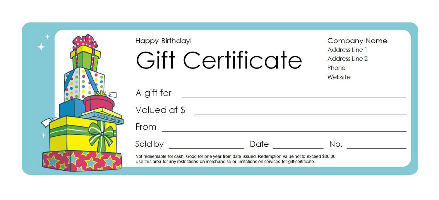 Printable Gift Voucher Template | Certificatetemplategift With Regard To Printable Gift Certificates Templates Free