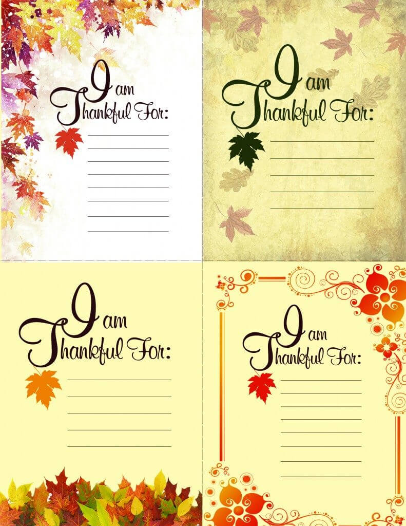 Printable Thanksgiving Place Setting Cards – American With Regard To Thanksgiving Place Card Templates